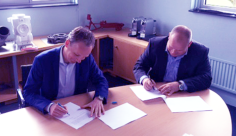 Accezz signed an agreement in the manufacturing sector